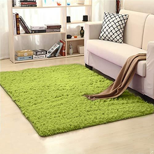Mon Moira Alfombra Suave para Interiores y Modernas, Ideal para decoración de dormitorios y guarderías, Verde, 3.2'*5.2'