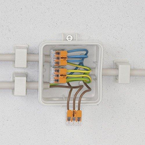 Wago 221-412 LEVER-NUTS 2 Conductor Compact Connectors 10 PK ...