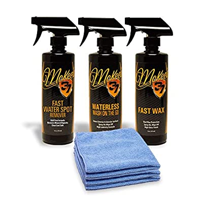 McKee's 37 MK37-FWSRK Water Spot Removal Kit (6-Piece): Automotive