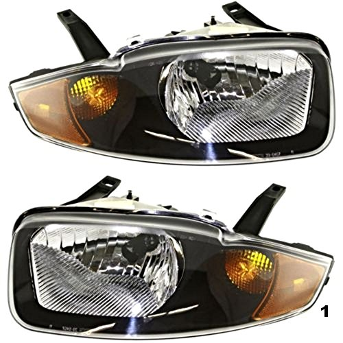 03 05 Chevy Cavalier Left   Right Headlamp Assemblies  Pair