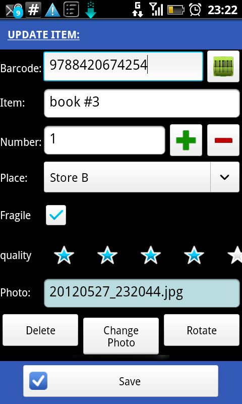 XSCANPET FIRE= inventory and collection manager + Excel editor (Kindle  Tablet Edition)
