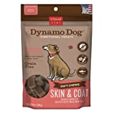 Cloud Star Dynamo Dog Skin and Coat Functional Treat Pouches, Salmon, 14-Ounce