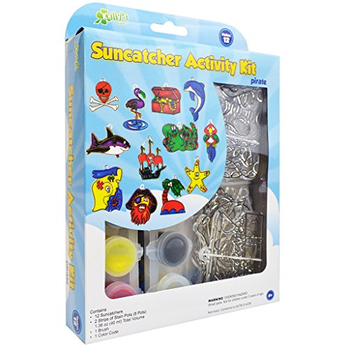 (The New Image Group 638871 Pirate Suncatcher Group Activity Kit - 12-Package )