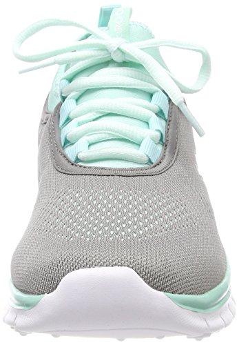 Mint Grau KangaROOS Adulte Neo Mixte K Grey Steel Run Baskets HwHzgYq