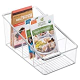 mDesign Kitchen Organizer Bin for Food Storage, Condiment/Dressing Review and Comparison