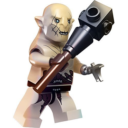 LEGO Minifigure - The Hobbit - AZOG with Club