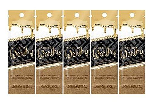 Designer Skin Worship Worthy Packets (5 x 0.5 - Sunnies Designer