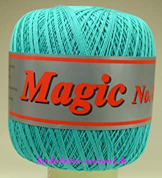 Häkelgarn 100 Gramm Baumwolle Filet Garn Häkeln Magic Stärke Nm 17