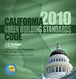 California Green Building Standards Code 2010, International Code Council Staff, 158001979X