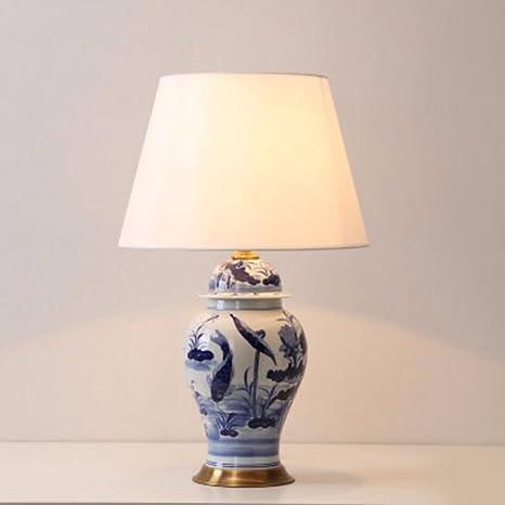 CJSHV-Lámpara de mesa Lampara Decorativa De Cerámica China ...