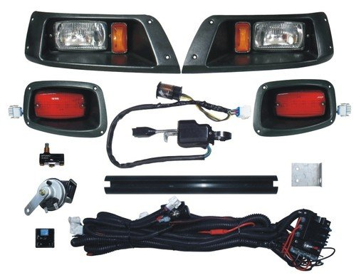 DELUXE Street Package Light Kit for EZGO TXT Golf Cart 1996 & Up
