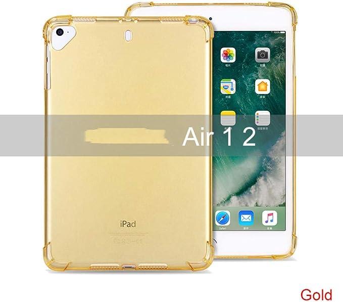 ZZKHSM Estuche Suave Transparente para iPad Air 2 1 Funda Funda Protectora a Prueba de Golpes Funda para iPad Air2 110.5 Pulgadas-Amarillo: Amazon.es: Electrónica