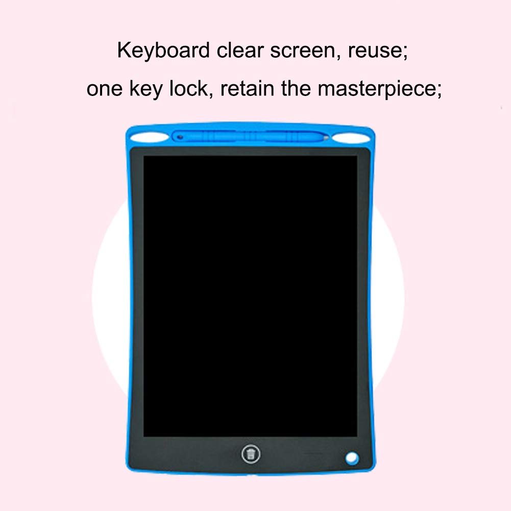 Inkach 12-inch Kids Digital Handwriting Pads Adults Memo Message Board,White,colorhandwriting QLPP LCD Writing Tablet,Electronic Drawing Board