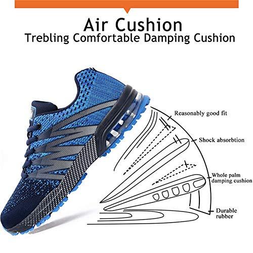 Azooken Herren Damen Sportschuhe Laufschuhe Turnschuhe Sneakers Leichte Fitness Mesh Air Sneaker Straßenlaufschuhe… 4