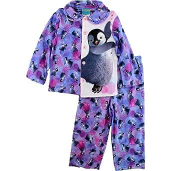 "Amazon.com: Happy Feet Two ""Penguins"" Purple Flannel Coat ..."