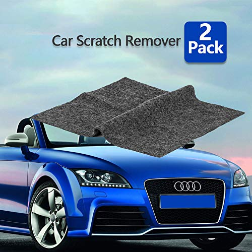 - [2pack] Multipurpose Scratch Removal for Cars ,Car Paint Scratch Repair Cloth,Car Scuff and Scratch Remover Nano-Tech Magic Scratch Remover Fix Car Scuffs Polishing Kit for Multicolor Car Surface