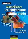 Aide-mémoire d'électronique pour l'audio-vidéo - 7ème édition