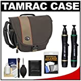 Tamrac 3442 Rally 2 Digital SLR Camera Case (Brown/Tan) with Cleaning and Accessory Kit for Canon EOS 6D, 5D Mark II III, Rebel T3, T4i, T5i, Sl1, Nikon D3100, D3200, D5100, D5200, D7000, D7100, D600, D800, Sony Alpha A57, A65, A77, A99 DSLR Cameras, Best Gadgets