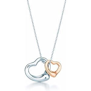 Amazon elsa peretti starfish pendant necklace in sterling silverlight elsa peretti open heart pendant necklace aloadofball Gallery