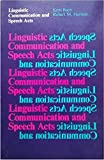 img - for Linguistic Communication and Speech Acts book / textbook / text book
