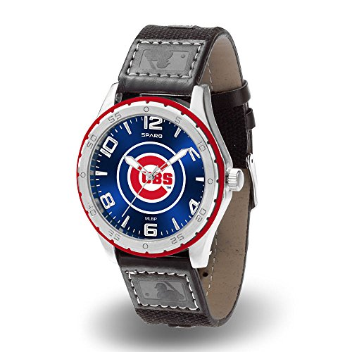 MLB Gambit Watch - Leather Chicago Cubs Embossed