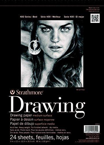 Strathmore 400 Series Drawing, Medium Surface, 12