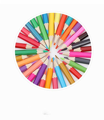 48-color Colored Pencils/ Drawing Pencils for Artist Sketch/Coloring Book(Not Included) (blue) Photo #7
