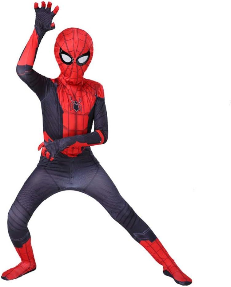 SEJNGF Superhéroe Spiderman, Niños Adultos, Cosplay, Medias De Una ...