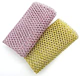Non-Scratch HEAVY DUTY Scouring Pad or Pot Scrubber Pads For Scouring Kitchen, Dishwashing