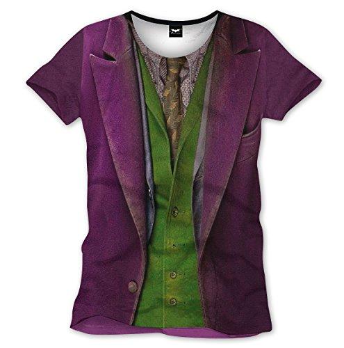 Joker Suit Shirt (Batman T-shirt Joker suit (XL))