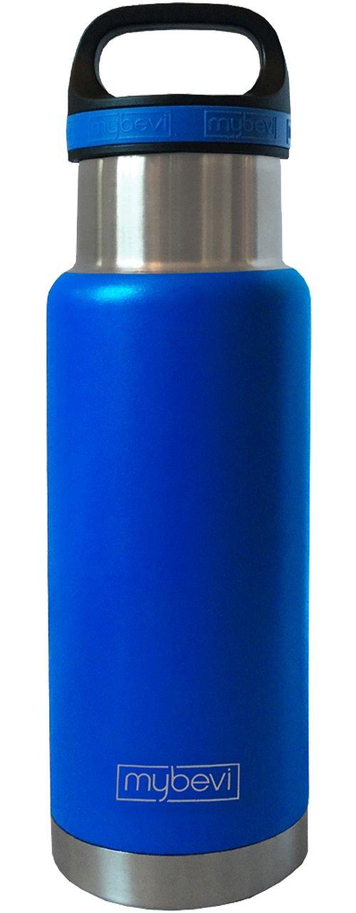 MyBevi 082041132 Stainless Steel Bottle, 18 oz, Blue