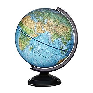 "Replogle 12"" RTA -Ready to Assemble World Globe (30cm Diameter) Blue"