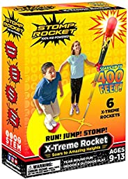 Stomp Rocket The Original X-Treme Rocket - Outdoor Rocket Toy Gift for Boys and Girls - Ages 9 Years Up (X-Tre