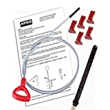 DIPSTICK w/INSTRUCTIONS & 5 LOCKING PINS -Mercedes Benz Tool to check ATF Fluid Level 140589152100/722.6 5 Speed Automatic TRANSMISSION Trans oil Auto