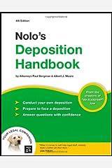 Nolo's Deposition Handbook Paperback