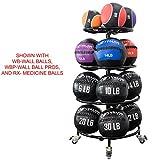 Valor Fitness BG-55 Rolling Medicine Ball Rack
