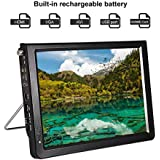 Acogedor Upgraded 12 inch Car TV, Portable ATSC Digital Small TV,1080P HD HDMI Video Player for Home Car Outdoor(ASTC)