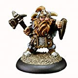 Dwarf Warrior - Dark Heaven Bones Miniature by Reaper