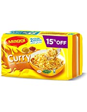 Maggi 2 Minutes Noodles Curry, Pack of 10 (10 x 79g)