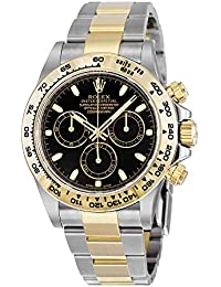 Cosmograph Daytona Steel and 18K Yellow Gold Oyster Men's Watch 116503BKSO