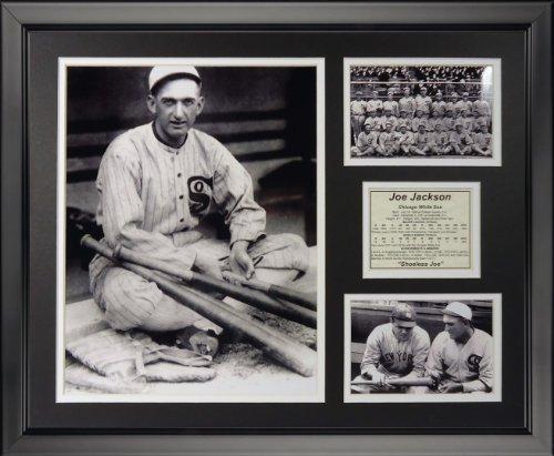 Legenden Sterben Nie schuheless Joe Jackson gerahmtes Foto Collage, 40,6 x 50,8 cm von Legends Never Die
