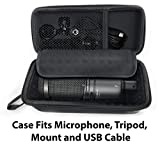 CASEMATIX Padded AT2020 Microphone Case Compatible