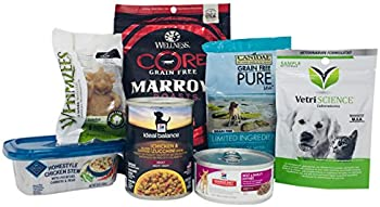 Dog Food and Treat Sample Box + $11.99 Amazon.com Credit