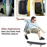 "ZUEXT 11"" x 50"" Black Skateboard Grip Tape"
