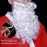 WINOMO Santa Wig and Beard Set Christmas Wig White
