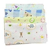 Baby Care Bath And Shower, Baby Bib, Baby Handkerchief Blue 4pcs