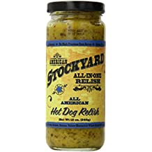 American Stockyard All American Hot Dog Relish, 12 Ounce