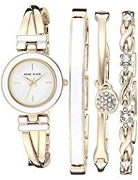 Women's Bangle Watch and Swarovski Crystal Accented...