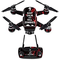 Skin for DJI Spark Mini Drone Combo - Kill Zombies| MightySkins Protective, Durable, and Unique Vinyl Decal wrap cover | Easy To Apply, Remove, and Change Styles | Made in the USA