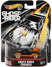 Hot Wheels Model auto 8 cm lader van Ghost Rider - schaal 1/64 DieCast Original Marvel FLD30